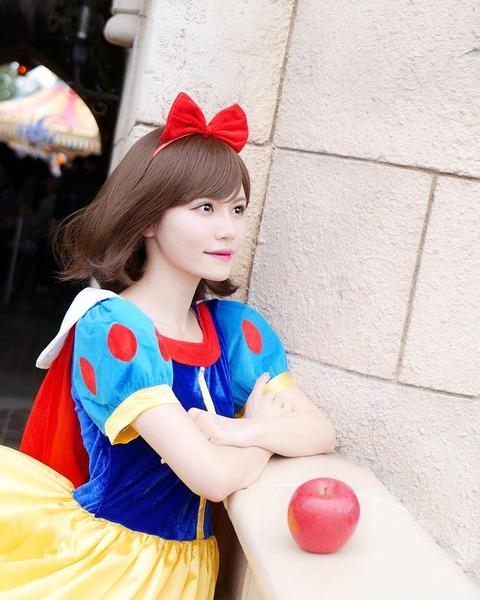 【AKB48】込山榛香さん、白雪姫になる【画像】