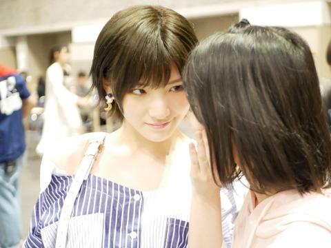 【AKB48】岡田奈々さん、捕食の瞬間を激写されるwwwwww【#ひな写】