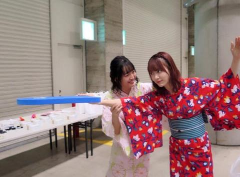 【HKT48】誤爆で「ぱんっぱん」とか言われてた田島芽瑠が宮脇咲良と仲良しでワロタwww