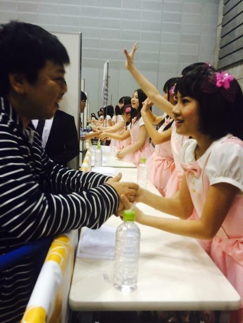 【悲報】SKE48の7期が早くも握手地獄の洗礼を受ける