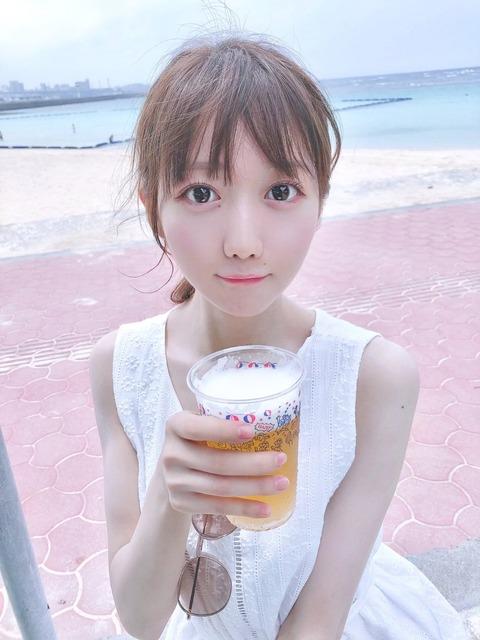 【画像】=LOVE(イコラブ)の大谷映美里が飲酒