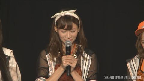 【SKE48】後藤理沙子が劇場公演で卒業発表!