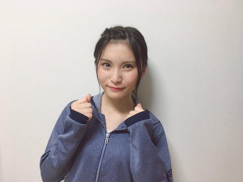 【AKB48】福岡聖菜「総選挙公約32㎞マラソン」今秋頃開催に向けて只今トレーニング中!