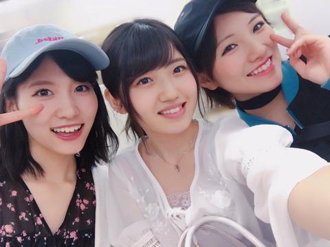 【AKB48】谷口めぐが電車でゆうなぁと偶然会う【村山彩希・岡田奈々】