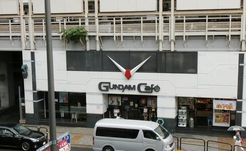 【悲報】ガンダムカフェ規模拡大でAKBカフェ跡地が飲み込まれてしまうwww