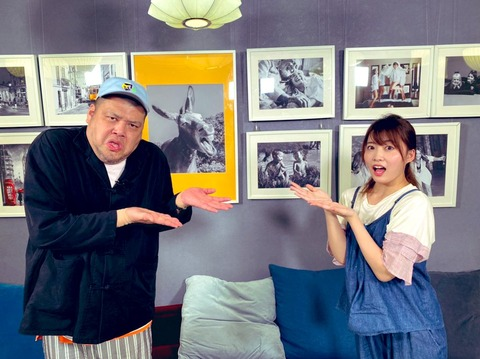 【AKB48】岡部麟ちゃんと野生爆弾くっきー!が共演!!!