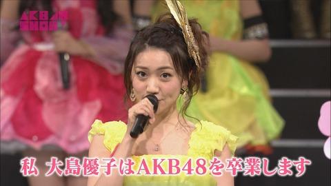 【AKB48】卒業発表の場所が無くなってきたよな。