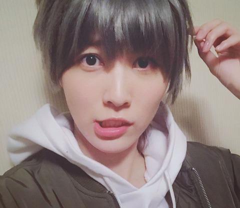 【SKE48】誕生日迎えた世界チャンピオン松井珠理奈さん、インスタに男装画像上げるもファボが伸びないwww
