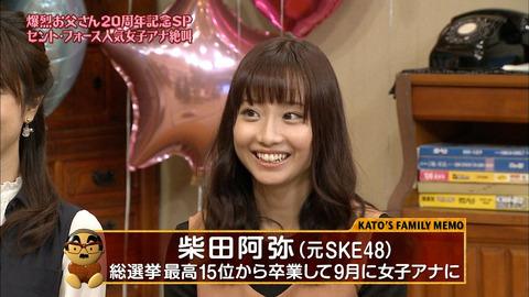 【Twitter】なんでフォロワー250万の篠田麻里子より7万の柴田阿弥の方が仕事多いんだ?