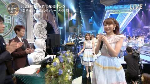 【HKT48】指原莉乃が「音楽の日」出演中に中居くんとがっつりアイコンタクトwww