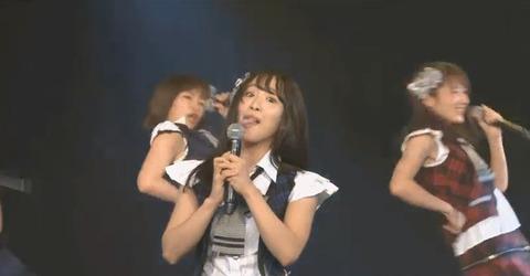 【閲覧注意】SKE48松村香織さん、劇場公演中に擬似フ◯ラを披露
