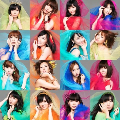 【AKB48】今年の16位までに恋チュン選抜が3人しかいないという事実【恋するフォーチュンクッキー】