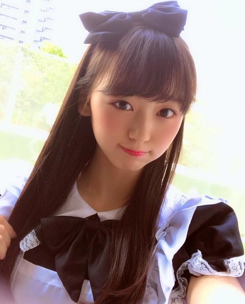 【NMB48】研究生のあーのんこと泉綾乃ちゃん(14)が校則違反すれすれな衣装でヲタを誘惑www