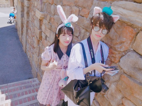 【HKT48】田島芽瑠、長身イケメンとのラブラブデート写真を公開・・・