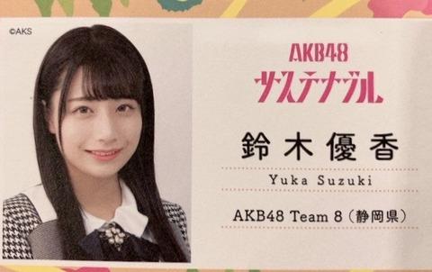 【朗報】AKB48チーム8新静岡・鈴木優香ちゃんの握手レーンが大盛況!