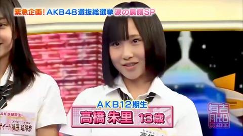 【AKB48G】有吉AKB共和国で川栄李奈、高橋朱里、小嶋真子より活躍したメンバーっていた?