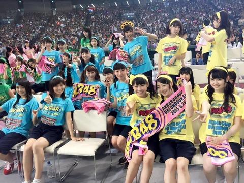 【AKB48G】メンバーが運動会やるよりヲタが運動会やった方が絶対盛り上がると思うんだが