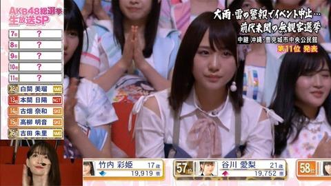 【AKB48総選挙】今年TJDSBこと高橋朱里ちゃんに投票して本当によかったと思う・・・