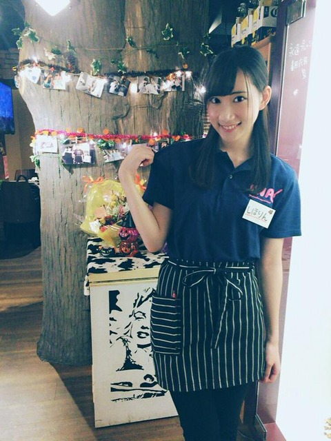 【元AKB48】鈴木紫帆里、焼肉IWAで働き始める