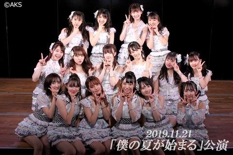 【AKB48】12月9日~19日の劇場公演スケジュール発表!!!
