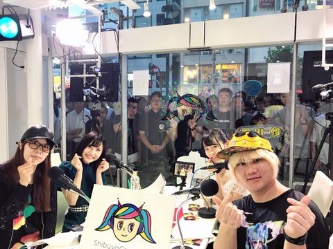 【AKB48】せいちゃんの冠ラジオの渋谷公開収録に、渋谷の若者が集結!!!【福岡聖菜】