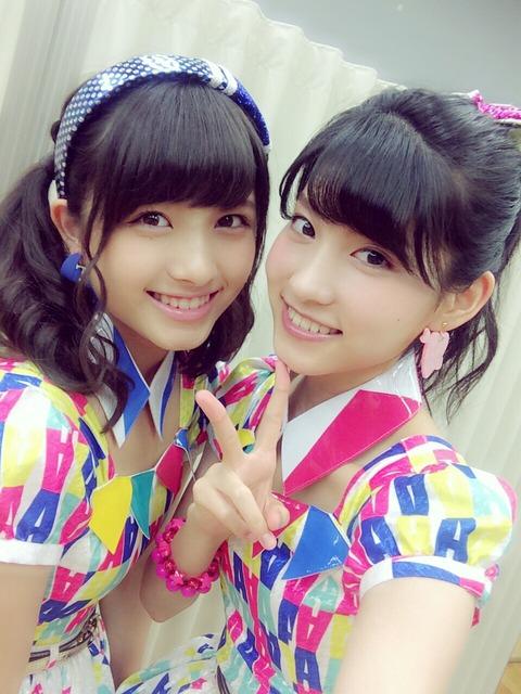 【AKB48】なーにゃとめぐどっちが可愛いと思う?【大和田南那・谷口めぐ】