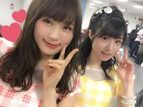 【NMB48】渋谷凪咲「岩立沙穂さんにたまに似てるって言われますふふ笑」