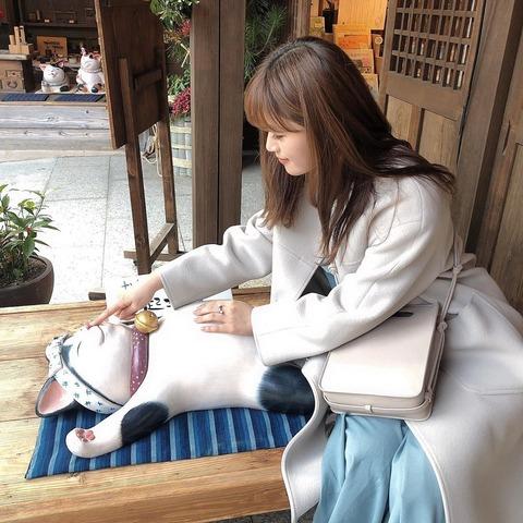 【NMB48】なぎちゃん「お~き~て~~ ぐーすか猫ちゃん 全然起きひん 起きて~☺?なあなあ~♪ね~~♪ね~?」【渋谷凪咲】