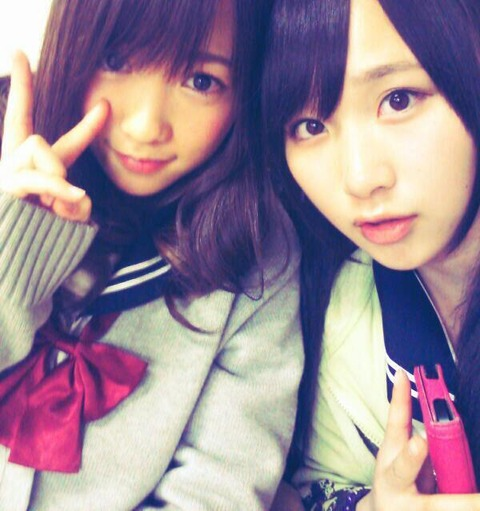【AKB48G】まるで姉妹のようなメンバーのコンビ
