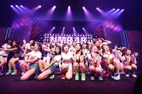 【朗報】NMB48 9th Anniversary LIVEチケット見切れ席発売!お値段税込3,900円!