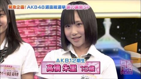 【AKB48】ロリ時代の高橋朱里ちゃんが可愛すぎる!!!