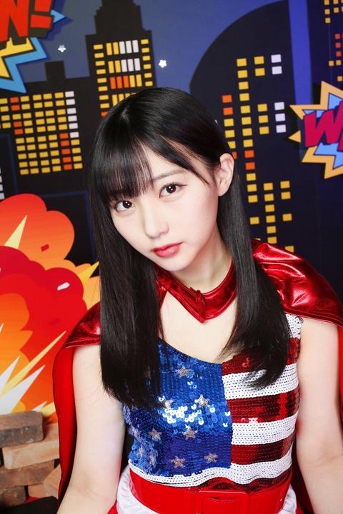 【HKT48】田中美久りんのお胸が星条旗を纏う!