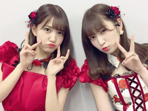 【NMB48】吉田朱里と加藤玲奈、どっちが可愛いと思う?【AKB48】