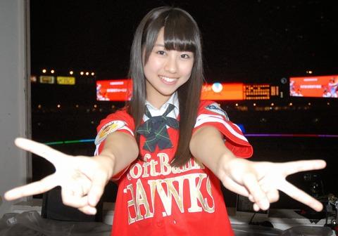 【朗報】HKT48若田部遥、勝利の女神復活!!!