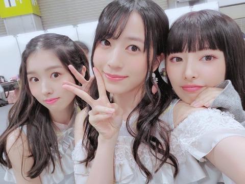 【AKB48】武藤十夢vs佐々木優佳里【12期】