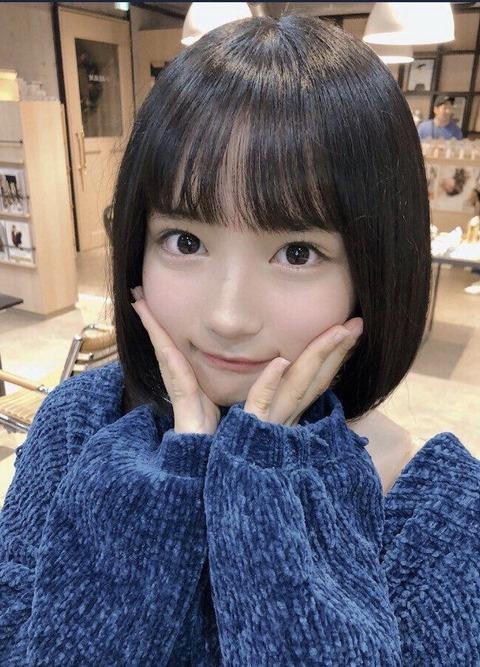 【朗報】主力が抜けたAKB48Gのエースが矢作萌夏ちゃんに大決定!!!