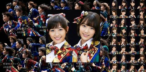 【AKB48】最後の完璧な良曲って「希望的リフレイン」だよな?