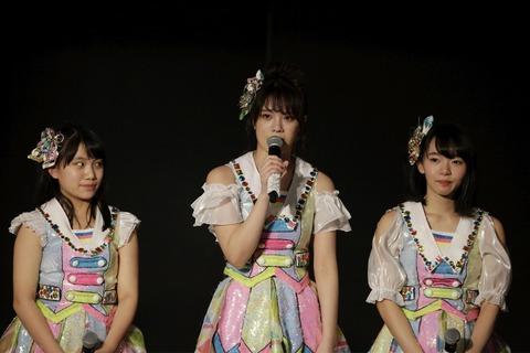 【SKE48】酒井萌衣、劇場公演にて卒業を発表