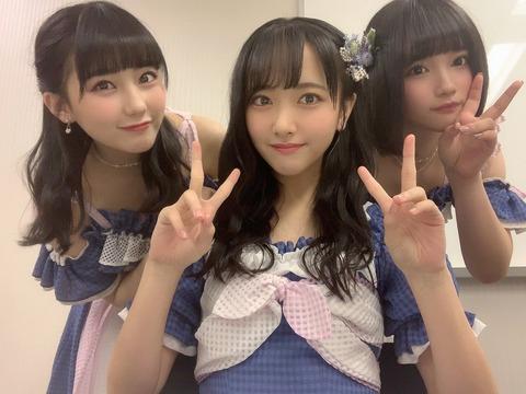 【AKB48G】次世代エース田中美久、石田千穂、矢作萌夏が秋葉原に降臨してカオスにwww
