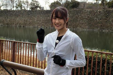 【NMB48】キャプテン小嶋花梨がフルマラソンに初挑戦!「自分に勝ちたい」