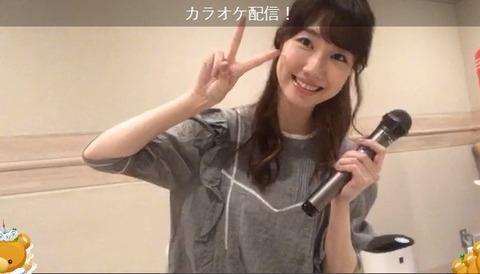 【動画】AKB48柏木由紀さん(27歳)、SHOWROOMで狂ったようにカラオケ配信www