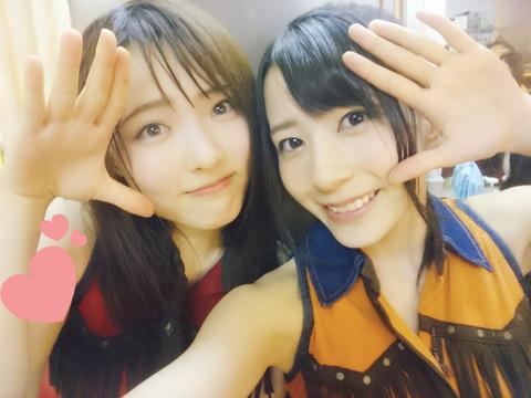 【AKB48】大森美優と佐々木優佳里、どっちと付き合いたい?