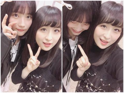 【AKB48】矢作萌夏と川本紗矢と服のサイズが同じだった事が判明www