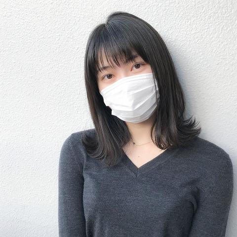 【AKB48】すっぴんマスク姿のゆいはんが美しすぎる・・・【横山由依】