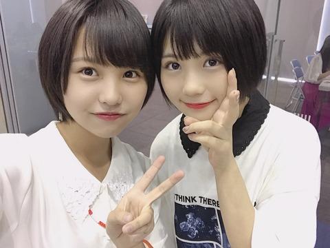 【SKE48】エースの小畑優奈がNMB48本郷柚巴に公開処刑されるwww