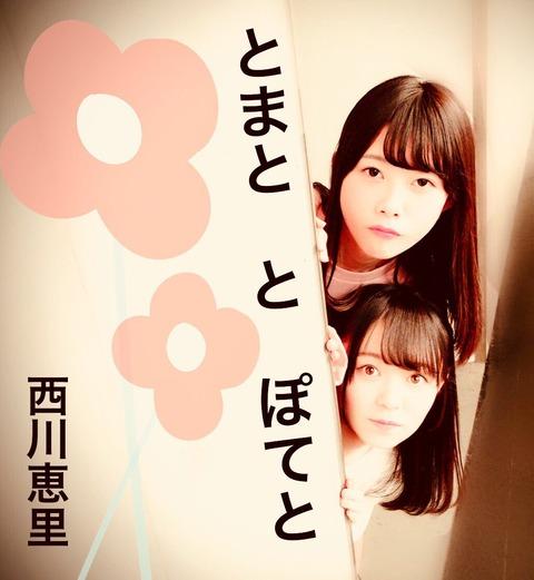 【AKB48】野澤玲奈が作った西川怜と千葉恵里のジャケ写風の画像