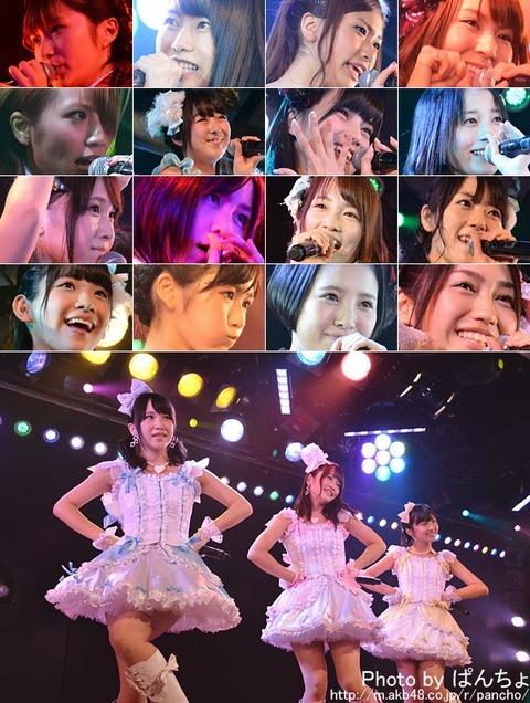 【AKB48】超選抜が公演に出るAと出ないK、B