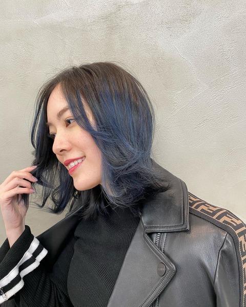 【SKE48】松井珠理奈さん、髪を青に染める「初めてのブルー」