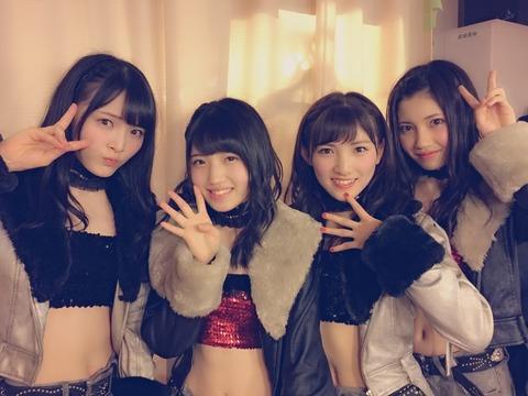【AKB48】高橋チーム4のユニット「カフェオレ」が最高な件【岡田奈々・北川綾巴・大森美優・村山彩希】