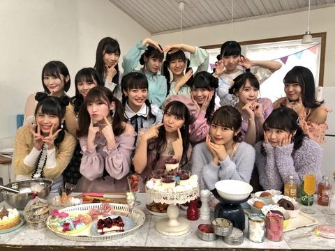 【NMB48】チームM最後列にキャリア7年の2期生、石田・西澤・鵜野がいてワロタ